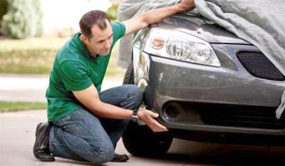 Самостоятельная покраска повреждений автомобиля