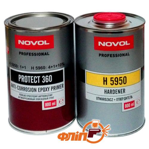 Novol Грунт эпоксидный PROTECT 360 1+1 0,8л фото