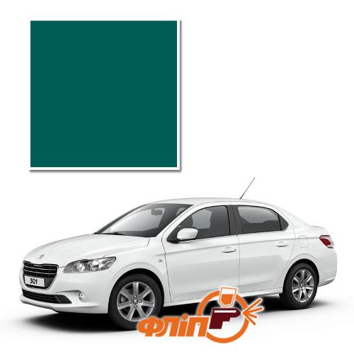 Vert Amazonie KQA – краска для автомобилей Peugeot фото