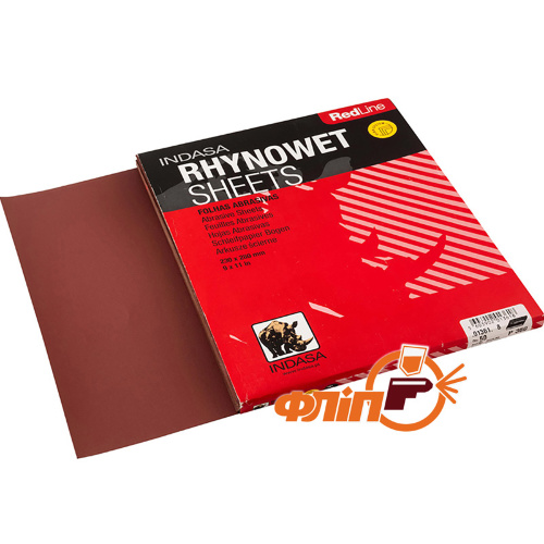 Indasa Водостойкая бумага Rhynowet red line 230x280мм P220 фото