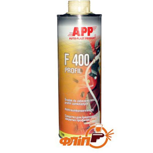 APP F400 Profil средство для защиты закрытых профилей, 1л прозрачный фото