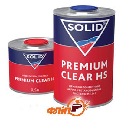 Solid Premium Clear HS Акриловый лак 1л фото