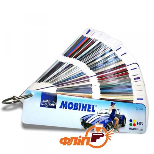 Цветовой веер Mobihel 2019 фото