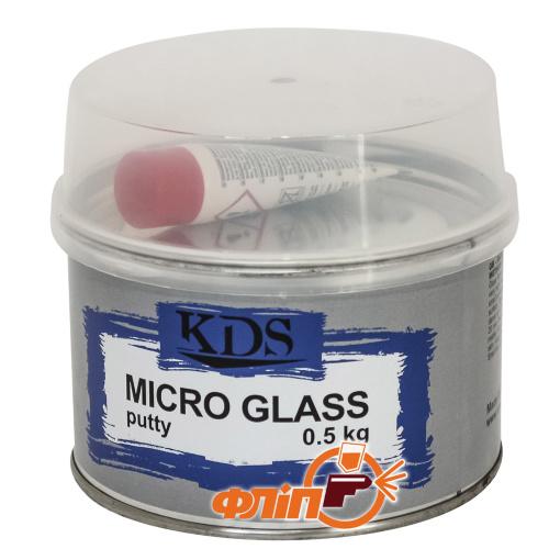 KDS Micro GLASS Шпатлевка со стекловолокном 0.5кг фото