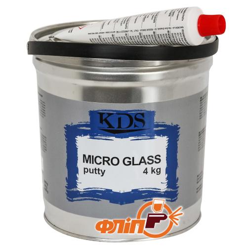 KDS Micro GLASS Шпатлевка со стекловолокном 4кг фото