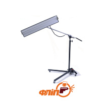 "L-TS-12V Lightweight Reverse Curvature 12-Volt Light Stand With 36"" Fixture"