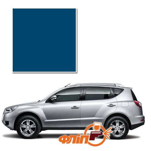 Pacific Blue 045 – краска для автомобилей Geely фото