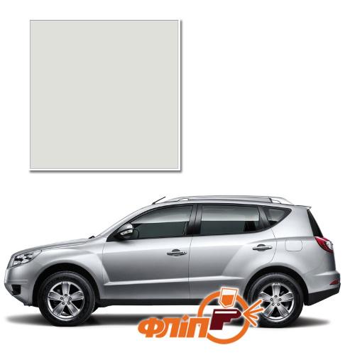 White 021 – краска для автомобилей Geely (трехслойка) фото