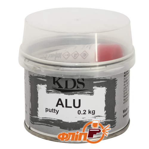 KDS ALU Шпатлёвка с алюминием 0.2кг фото