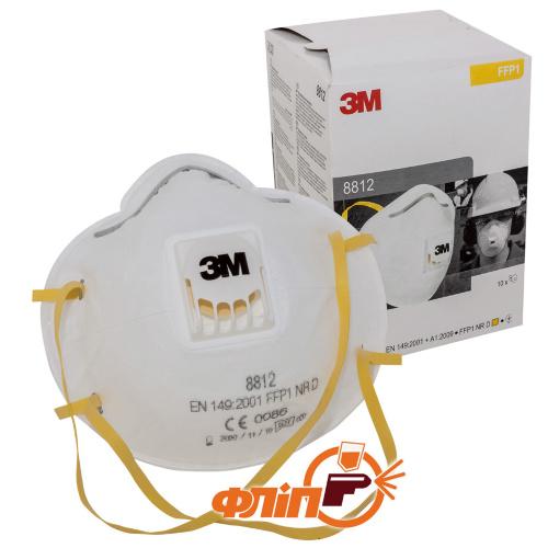 3M 8812 респиратор с клапаном фото