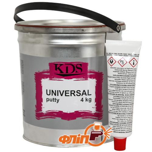 KDS Universal Шпатлевка универсальная 4кг фото
