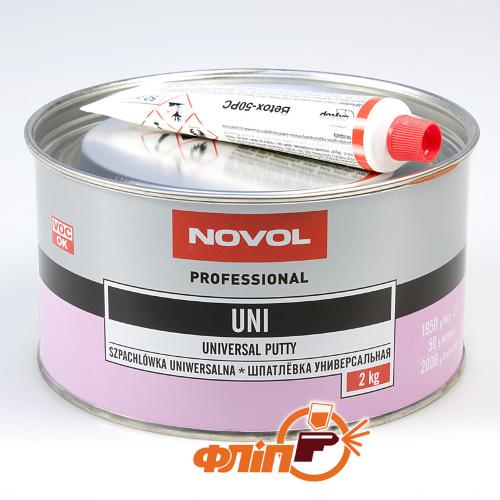 Novol Шпатлёвка универсальная UNI 2 кг фото