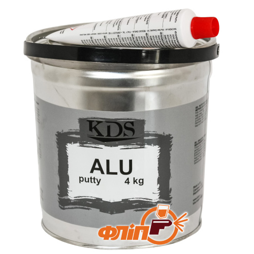 KDS ALU Шпатлёвка с алюминием 4кг фото