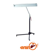 "LS-2BW Deluxe Light Stand With 3"" Casters"