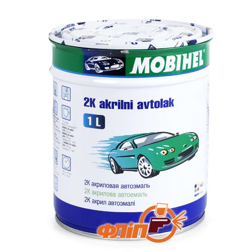 Mobihel 202 Снежно-белая – автоэмаль акриловая, 1 л фото