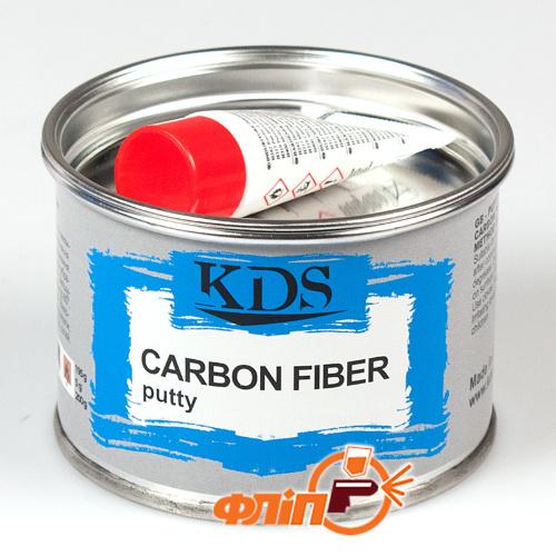 KDS Carbon Fiber Шпатлевка с углеволокном 0.2кг фото