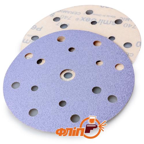 Круги шлифовальные Smirdex Ceramic 740, P220 фото