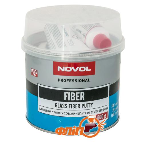 Novol FIBER Шпатлевка с углеволокном 0,2кг фото