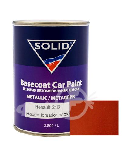 Solid 21B Renault Rouge toreador nacre, базовая эмаль фото