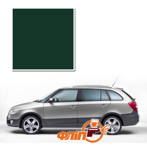 Naturgruen 9570 – краска для автомобилей Skoda фото