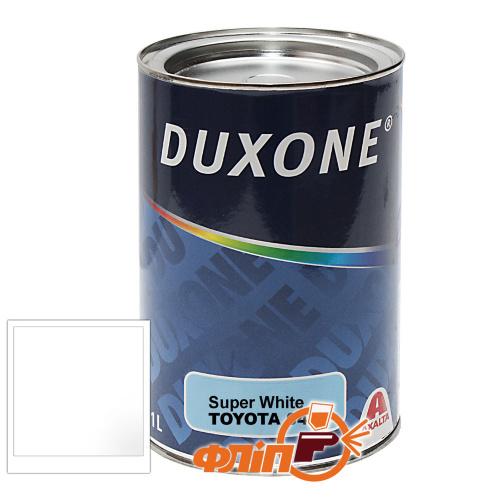 Duxone Toyota 040 белая, акриловая, 1л фото