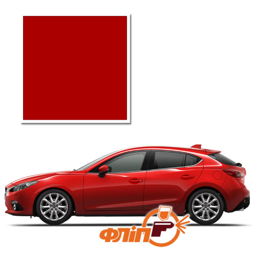 True Red A4A – краска для автомобилей Mazda фото