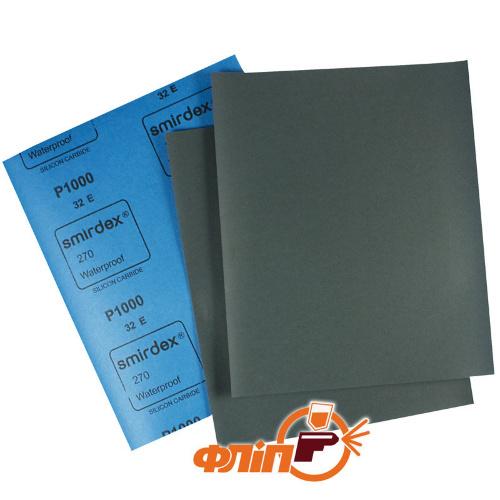 Smirdex 270 P1000 - бумага абразивная водостойкая фото