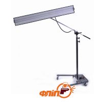 "TS-12V-48  Reverse Curvature 12-Volt Light Stand With 48"" Fixture"