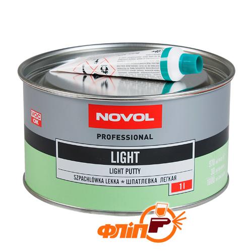Novol Шпатлёвка лёгкая LIGHT 1л фото