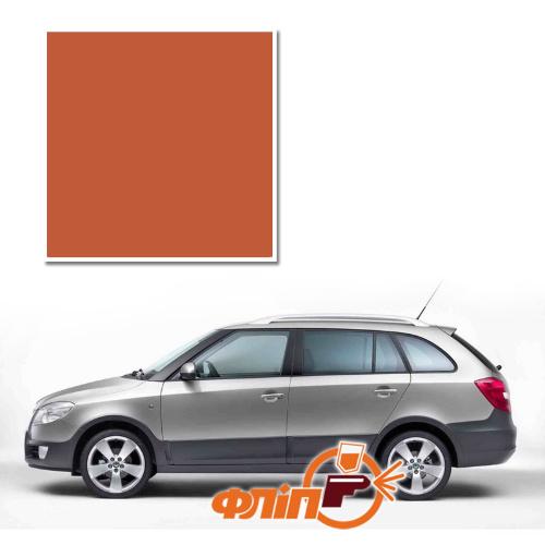 Tangerine Orange 9771 – краска для автомобилей Skoda фото