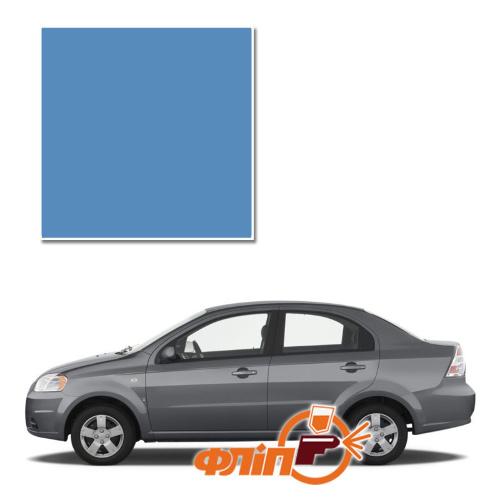 Denim Blue 31U – краска для автомобилей Chevrolet фото