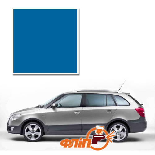 Race Blue LF5W – краска для автомобилей Skoda фото