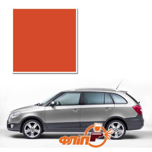 Cayenne Orange LF3T – краска для автомобилей Skoda фото