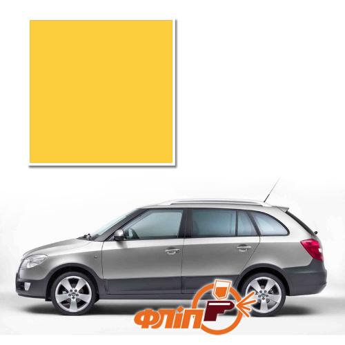 Sprint Yellow LF1F – краска для автомобилей Skoda фото