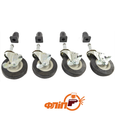 HSC-4 Hood Stand Casters