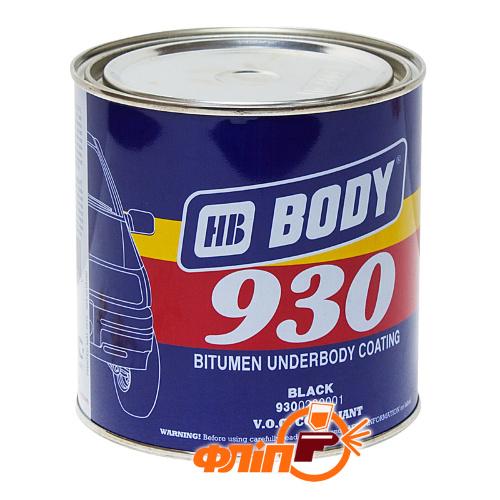 BODY 930 антикоррозийная мастика 2.5кг фото