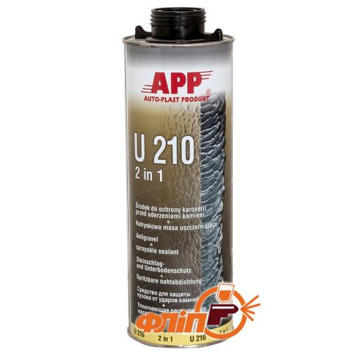 APP U210 Baranek черный, 1л фото