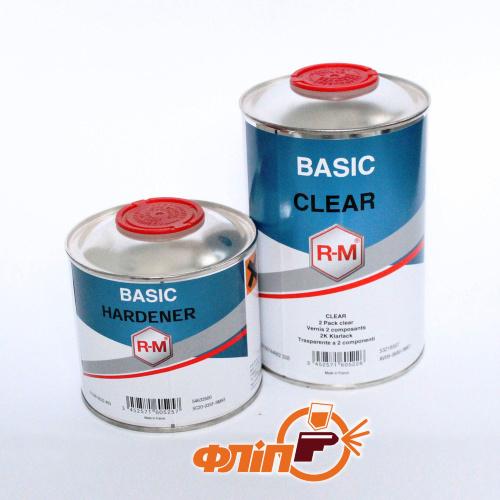 R-M Лак Basic Clear 1л + отвердитель 0,5л фото