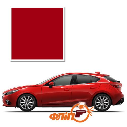Soul Red 41V – краска для автомобилей Mazda (с тонированным лаком) фото