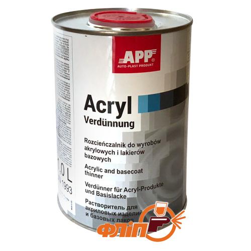 APP 2K Acryl растворитель акриловый 1л фото