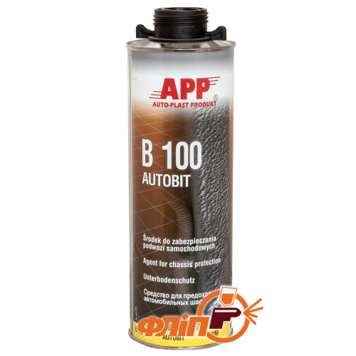 APP B100 Autobit Средство для защиты шасси, 1л фото