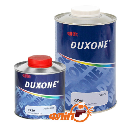 Duxone DX-48 HS 2K лак 1л + активатор 0,5 л фото