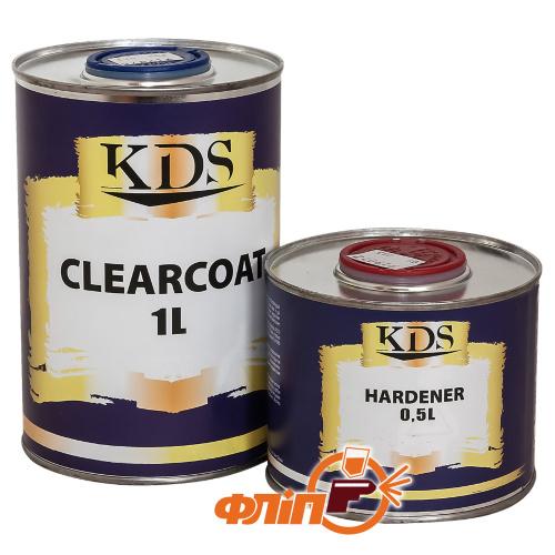 KDS HS лак 1л + активатор 0,5 л фото