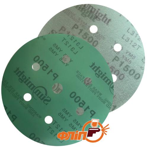 Круг шлифовальный Sunmight Film P1500, 150мм фото