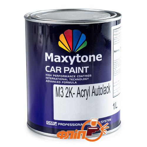 Maxytone VW R902 Серо-Белый, акриловая, 1л фото