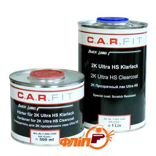 C.A.R.FIT Ultra HS 2:1 прозрачный акриловый лак 1л фото