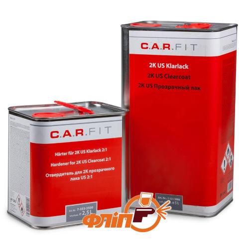 C.A.R.FIT MS 2:1 прозрачный акриловый лак 5л + 2,5л отвердителя фото