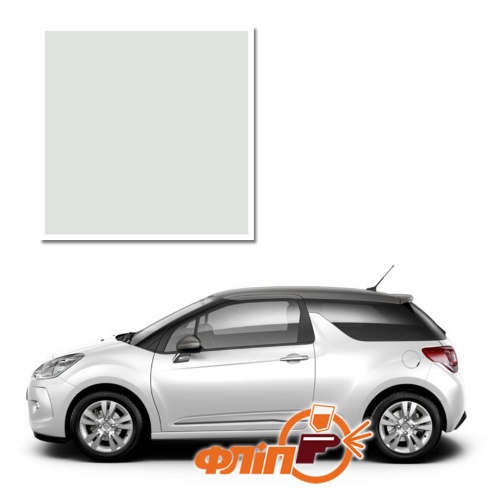 Blanc Banquise EWP – краска для автомобилей Citroen фото