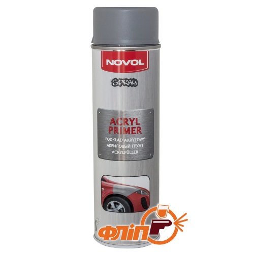 Novol Spray Primer аэрозольный грунт серый, 500мл фото