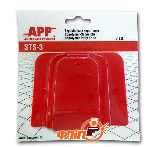 APP Гибкие шпателя из пластмассы 3 шт фото